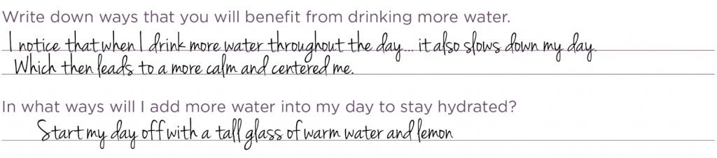 12 Months of Wellness - Month 7 Hydration