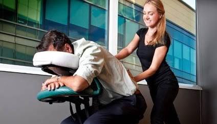 massage chair massage. massage chair